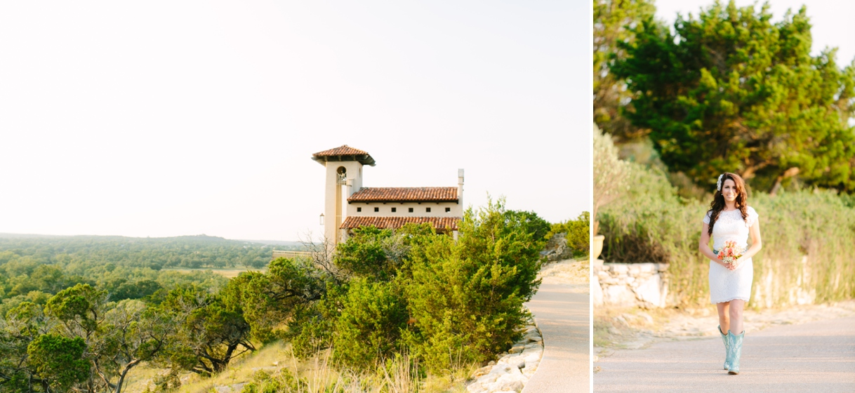 Chapel Dulcinea Texas Sunset Wedding