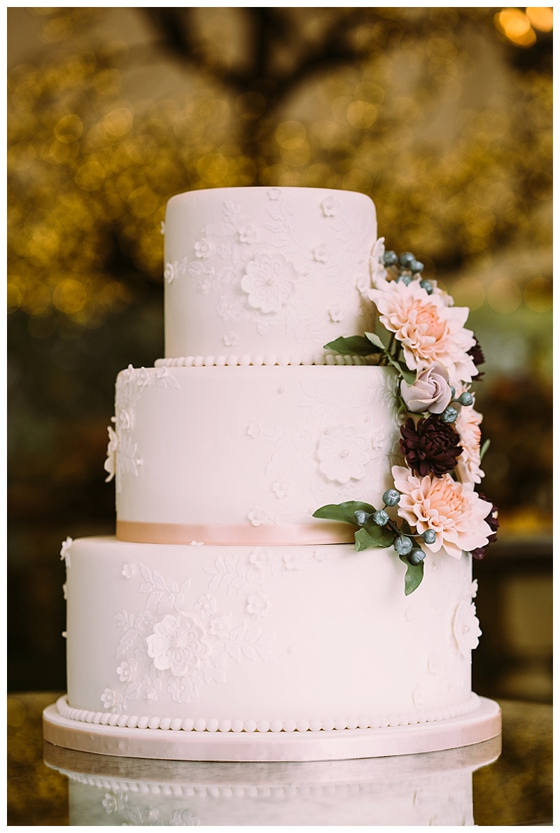 Camp Lucy : Wedding Cake : Al Gawlik Photography