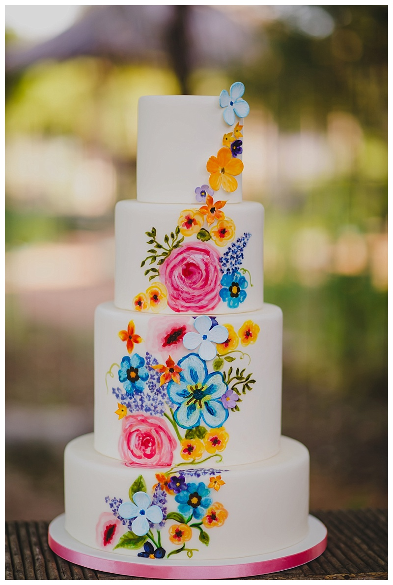 Texas Hill Country Wedding Venue : Wedding Cake : Al Gawlik Photography